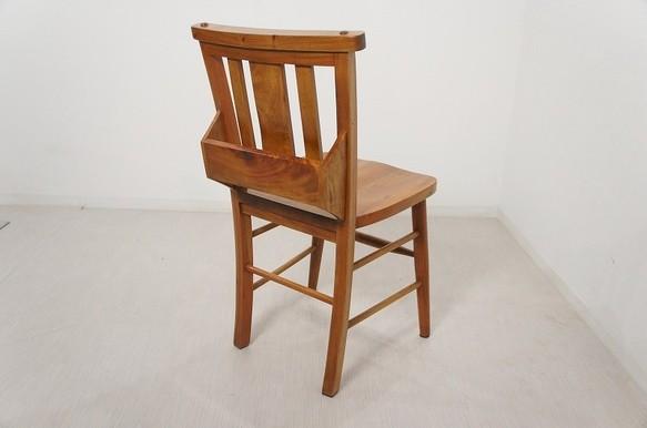 アンティーク調 ボックス付 チャーチチェア 教会 椅子