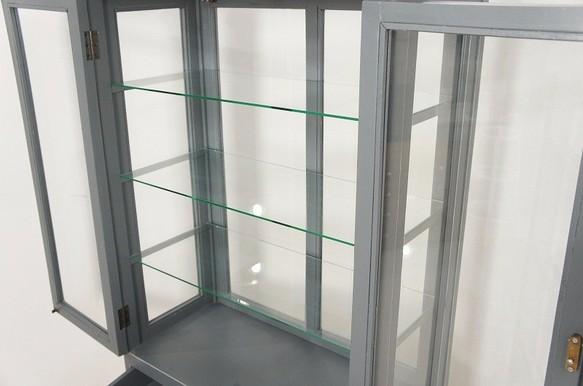 ガラスキャビネット ビッグ 医療棚 飾り棚 ケビント