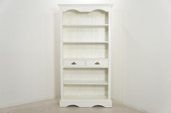 アンティーク調 ブックシェルフ 大型ラック 飾り棚
