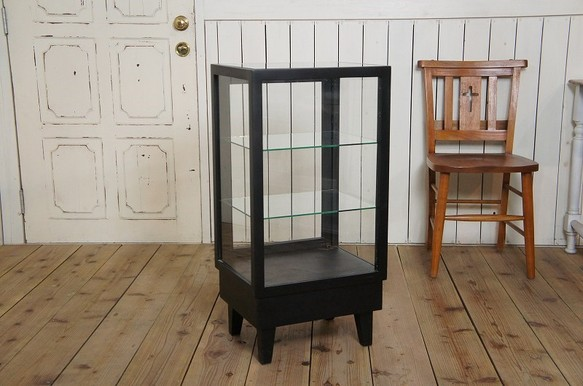 アンティーク調 飾り棚 ガラスケース パンケース