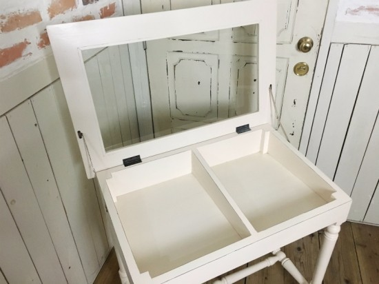 アンティーク調 ガラスショーケース 平置き 小物収納