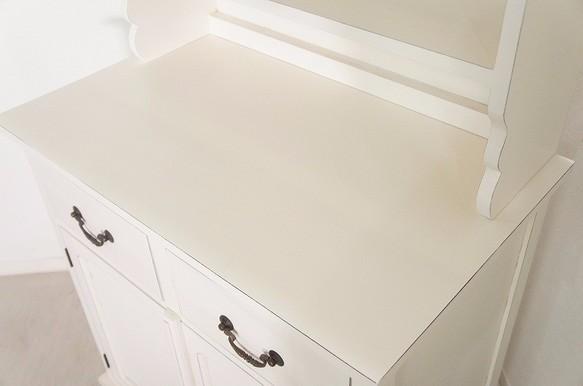 アンティーク調 食器棚 カップボード オープン棚