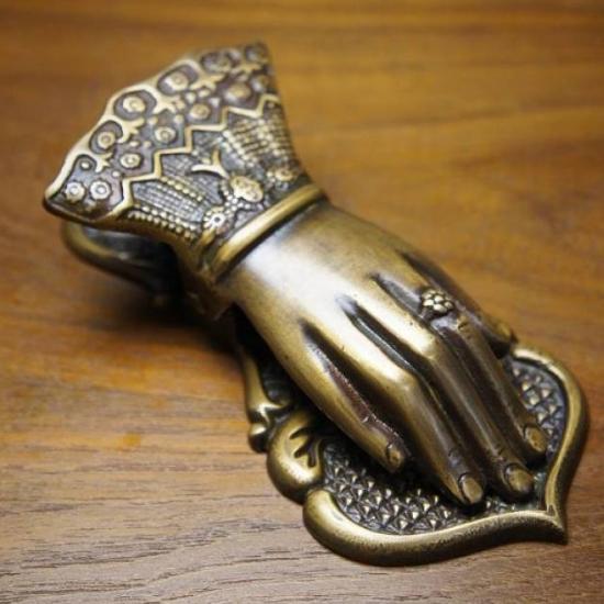アンティーク調 真鍮製 ビクトリア ペーパークリップ