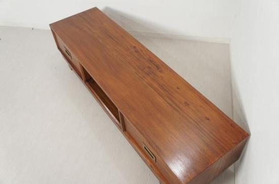アンティーク調 マホガニー テレビボード W150