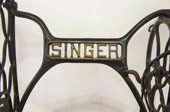 アンティーク シンガーミシン SINGER 脚 テーブル