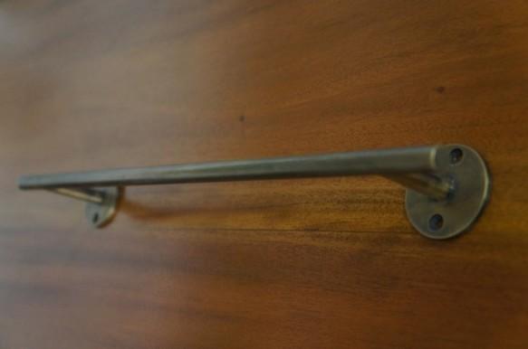 壁掛け タオルハンガー バータイプW35 真鍮製