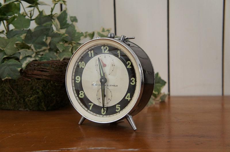 ビンテージ SEIKO 目覚まし卓上置時計
