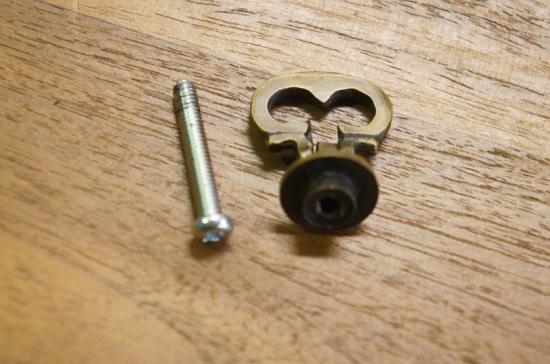 アンティーク調 プルハンドル 稼働式 真鍮製