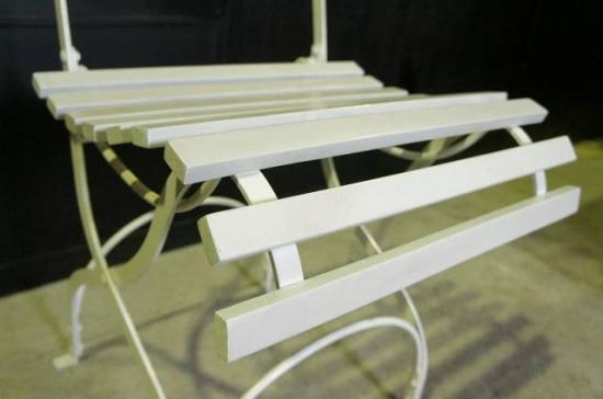 アンティーク調 ガーデン フォールディングチェア