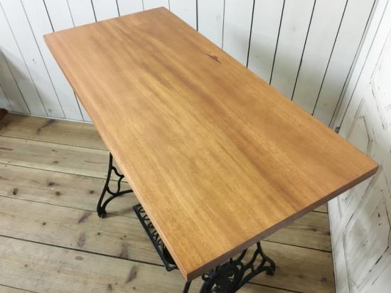 テーブルトップ 天板 天然木 マホガニー無垢
