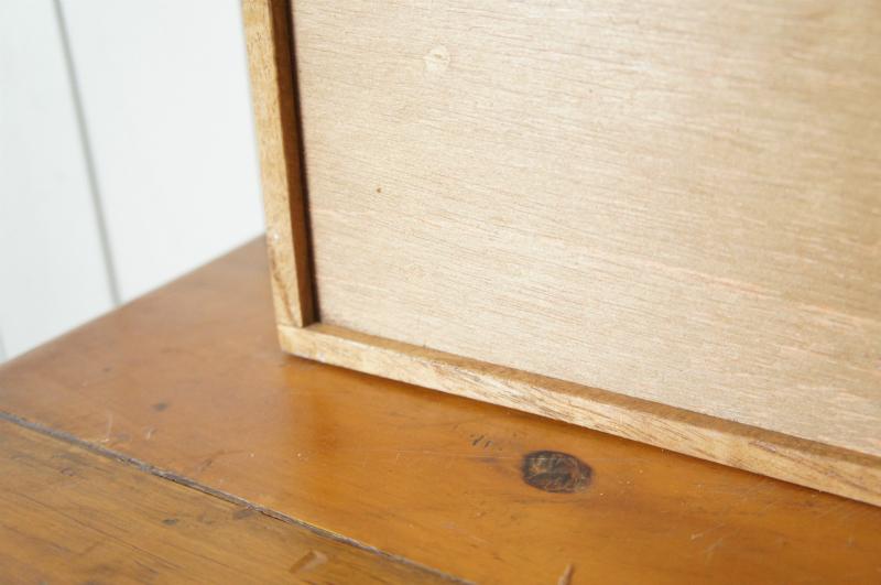 ミンディ 木製小物入れ トレイ 升箱 木箱 飾り棚 16マス