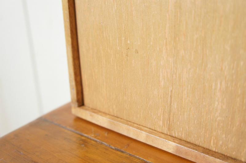 ミンディ 木製小物入れ トレイ 升箱 木箱 飾り棚 20マス